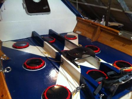 110 Portside steering setup