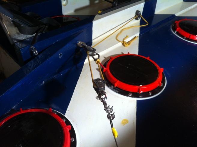 111 Starb steering setup