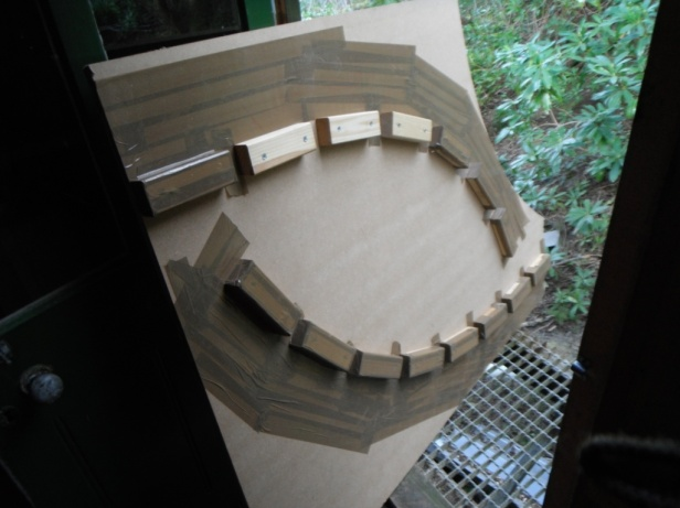 2) STEM TEMPLATES (recycled giant jenga!)