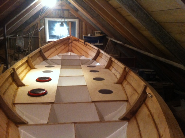 30) DECKING AND HATCHES SET-UP