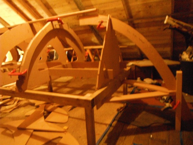 4) FRAME 2 CLAMPED