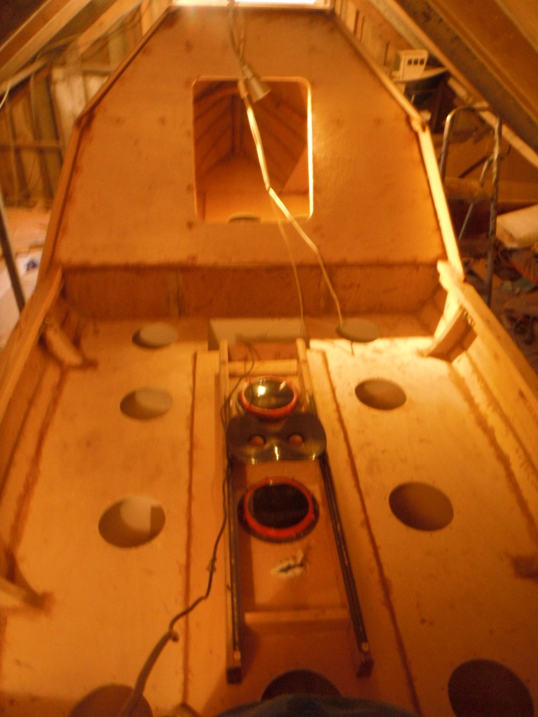 44) GENERAL VIEW LOOKING AFT
