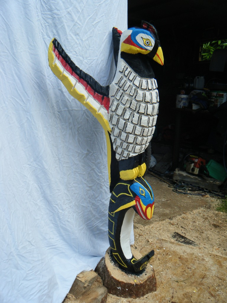 COLOURFUL BIRD/FISH