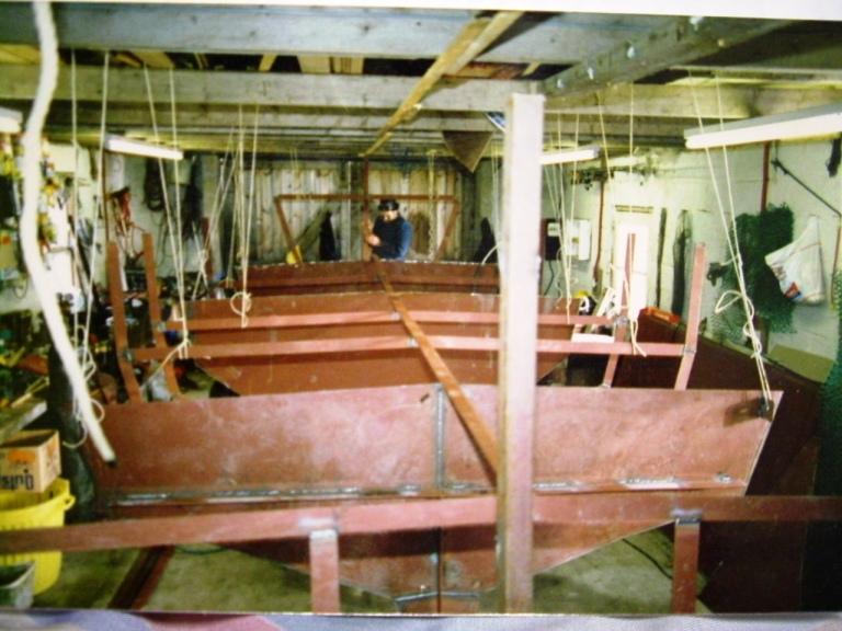 FRAMEWORK LINED-UP (STEEL BUILD)